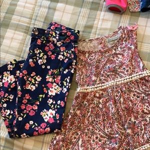 Girls Size 6 Two Pieces!